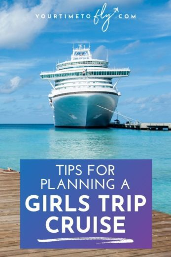 Tips for planning a girls trip cruise