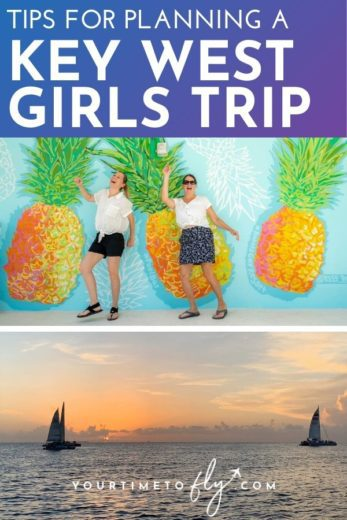 Tips for planning a Key West girls trip