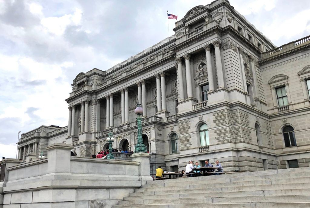 Library of Congress from the outside