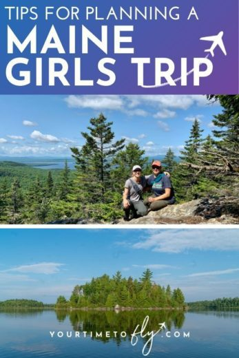 Tips for planning a Maine Girls trip