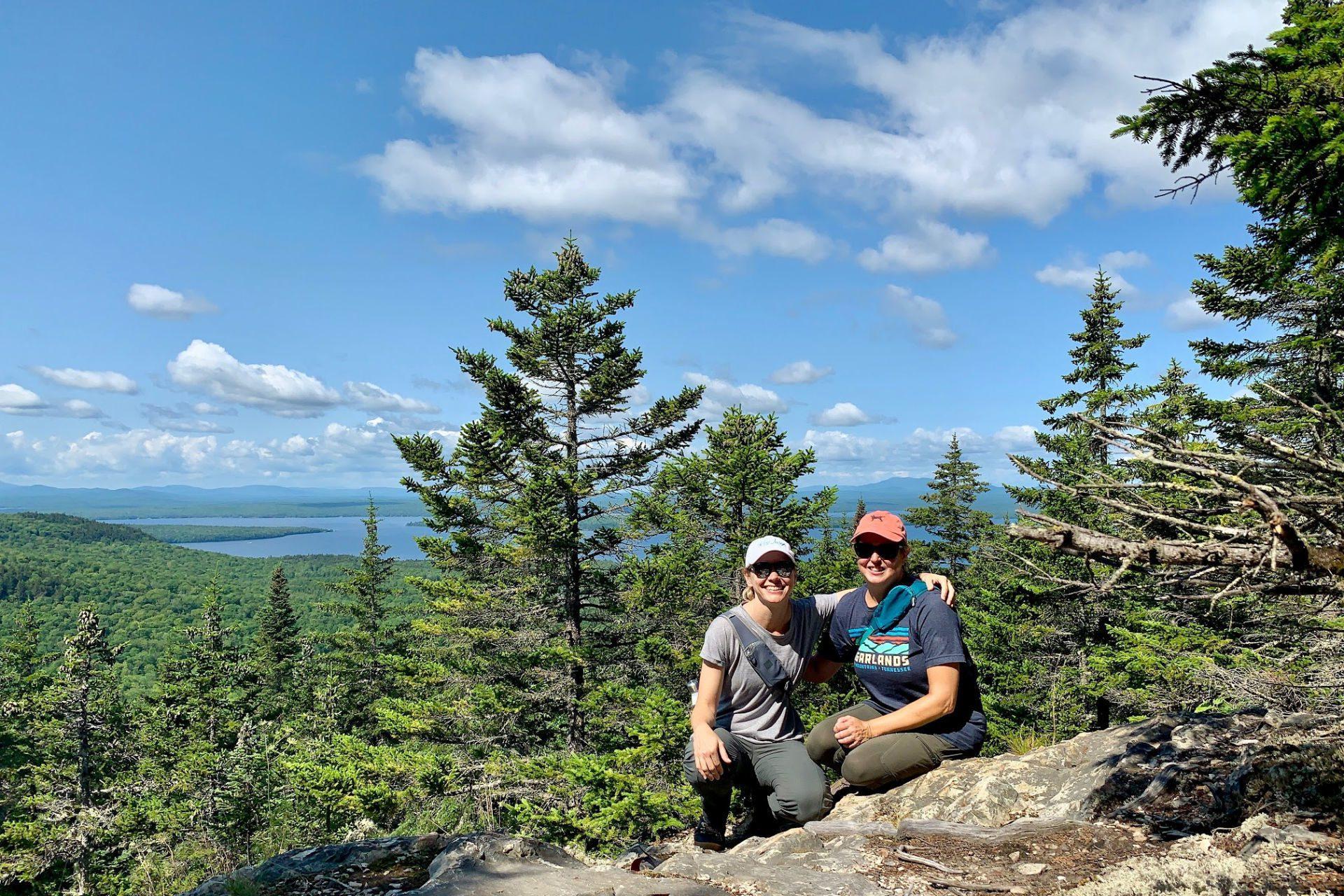 A Maine Girls' Trip / Momcation at Moosehead Lake
