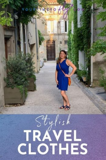 Stylish travel clothes to wear on the plane
