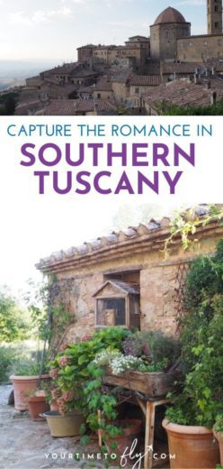 Romantic places to stay in Southern Tuscany