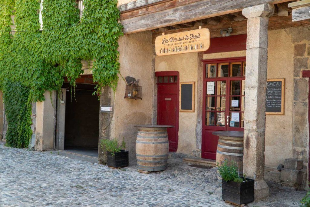 Storefront in the town of Lagrasse, France