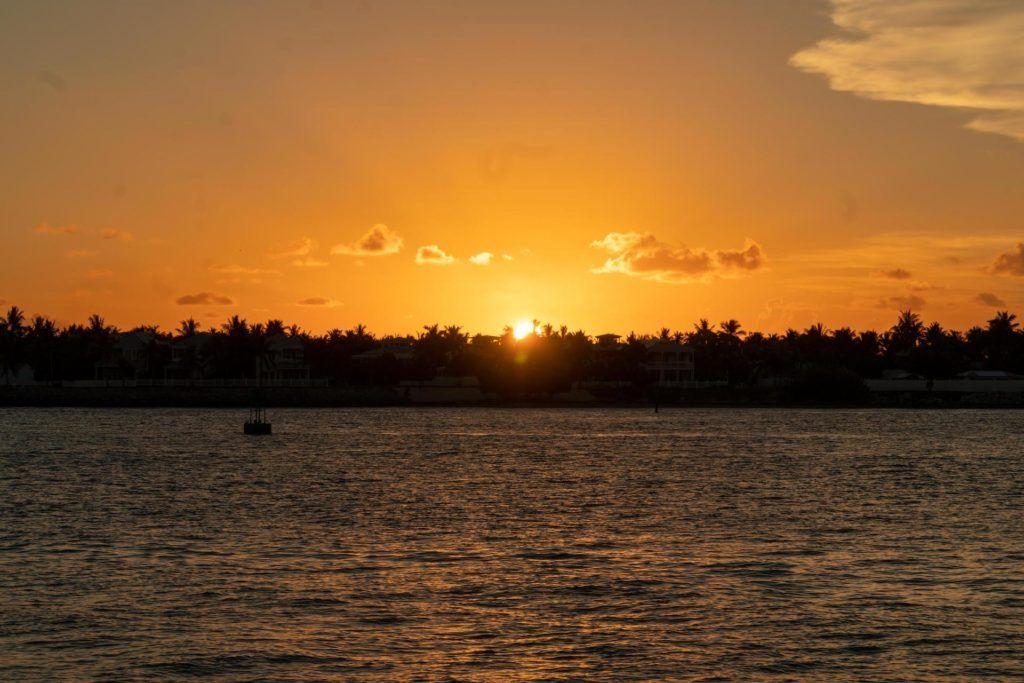 Sunset over Sunset Key