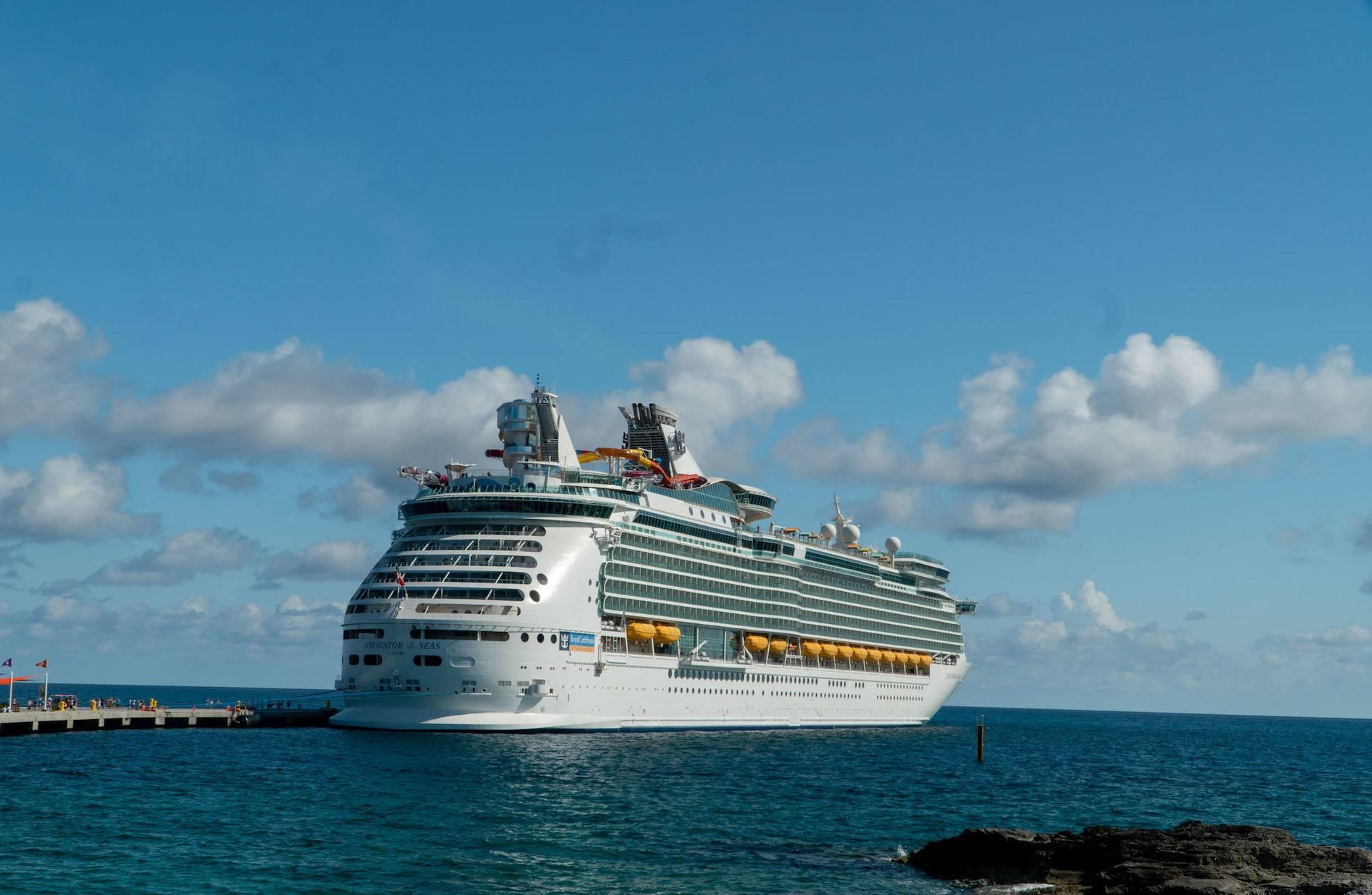 Royal Caribbean Navigator of the Seas at dock