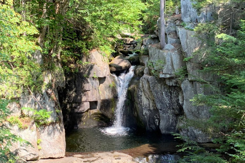 Screw Auger falls off Gulf Hagas Trail in Maine