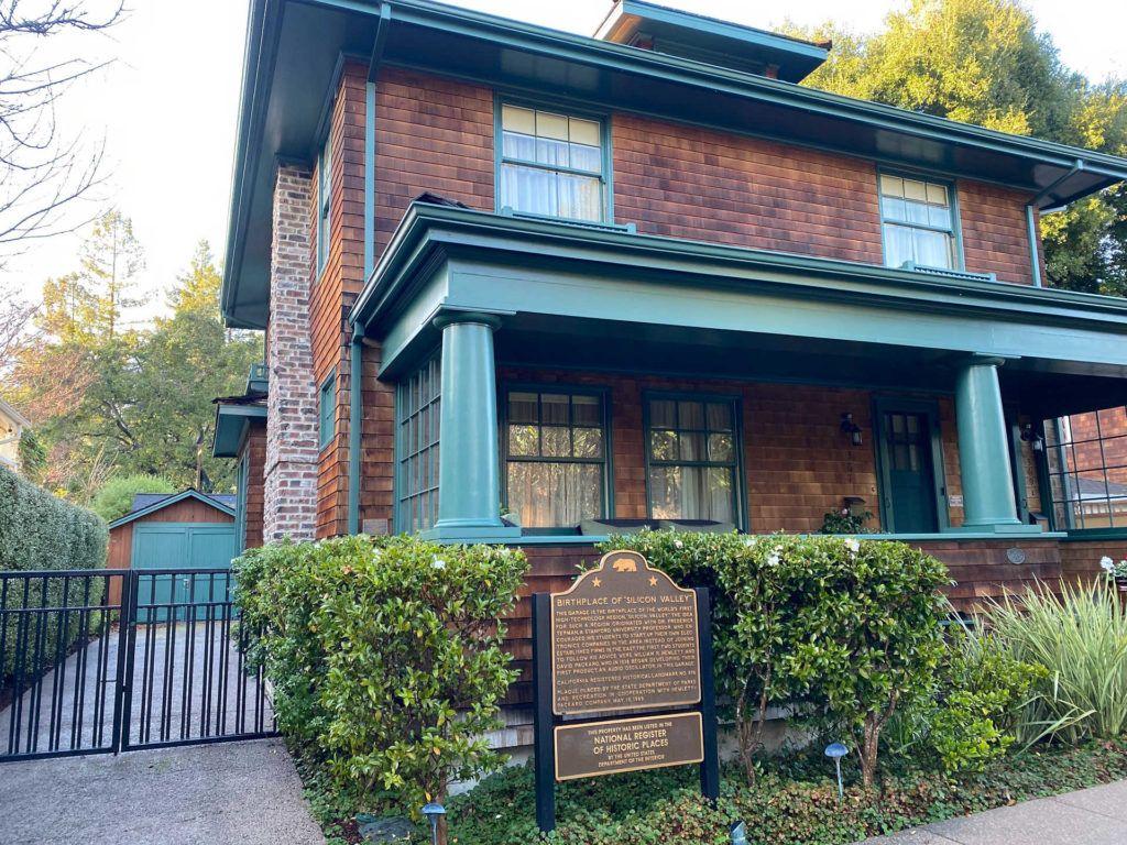 The Hewlett-Packard Garage