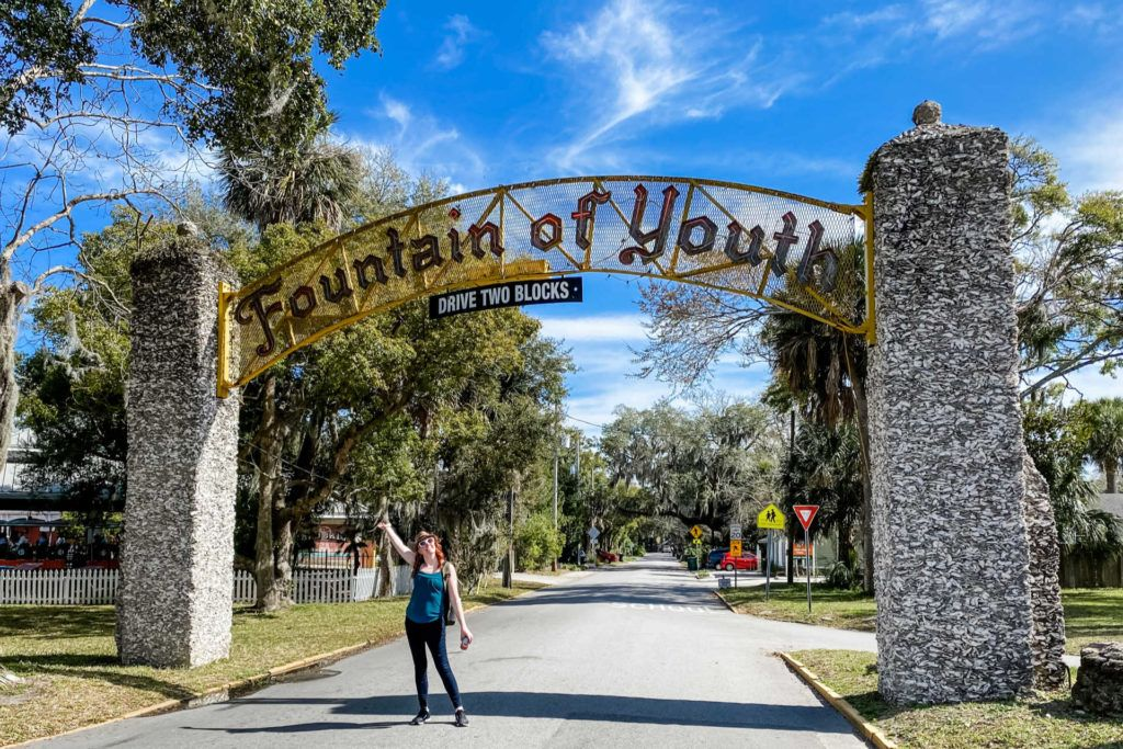 Fountain of Youth arch entrance