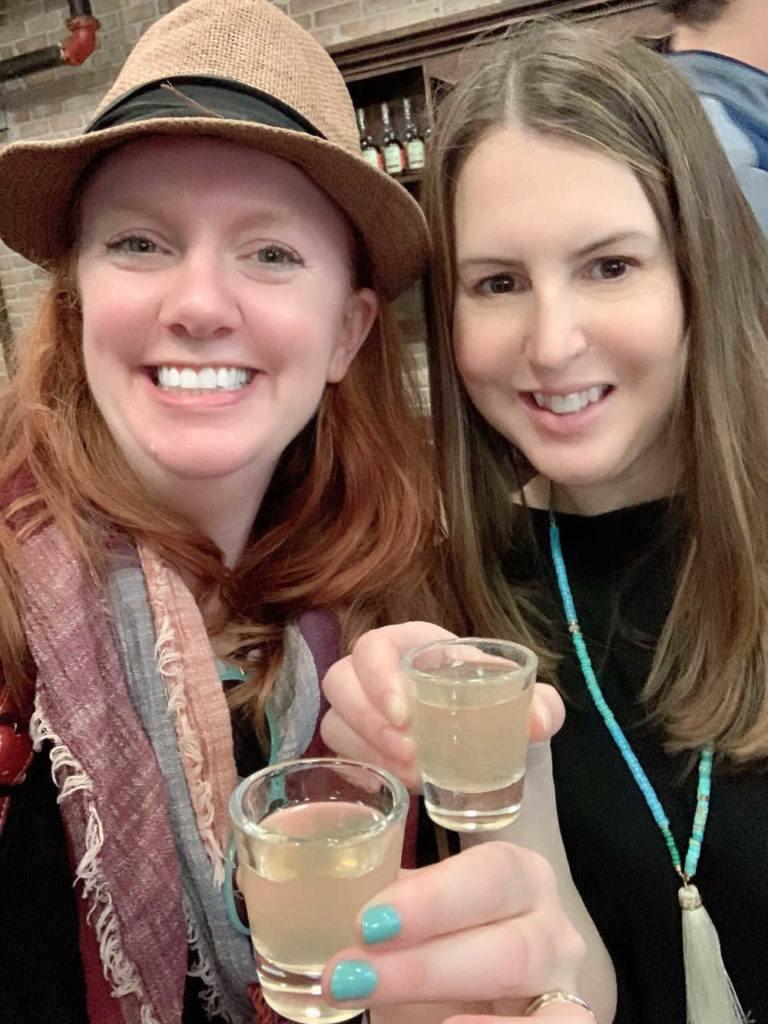 Tamara and Keryn at St Augustine Distillery