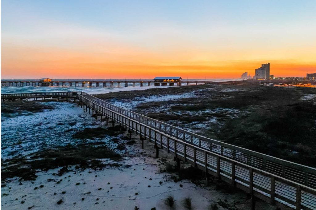 Sunset at the Pier at Gulf State Park