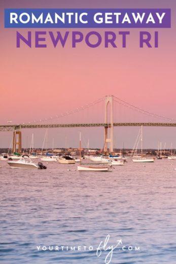 Romantic getaway Newport RI