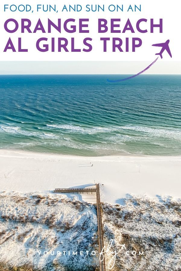 Tips for planning a Gulf Shores and Orange Beach girls weekend