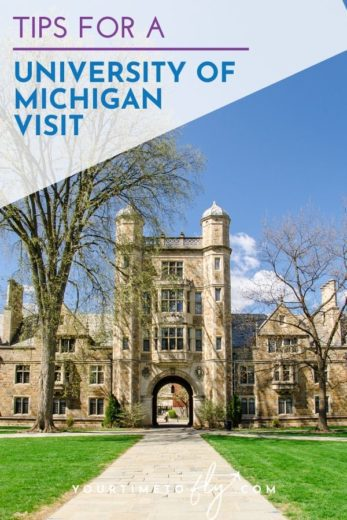 Tips for a University of Michigan visit
