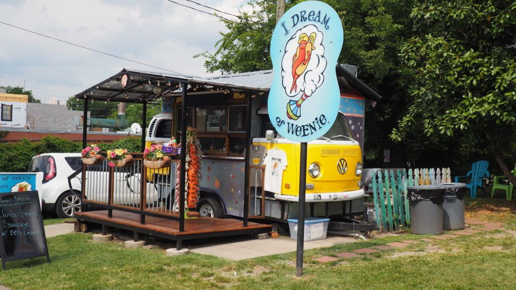 Nashville food tour I dream of Weenie food stand