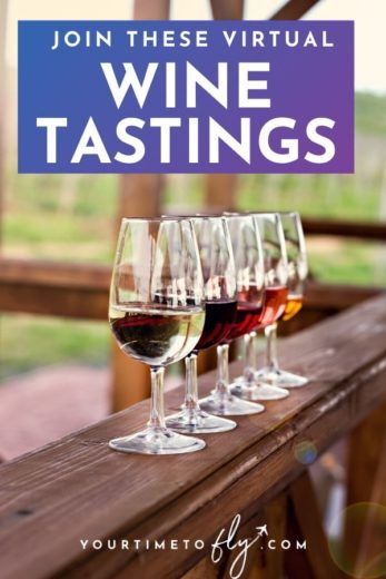 Join these virtual wine tastings