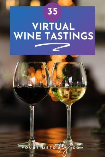 35 Virtual wine tastings