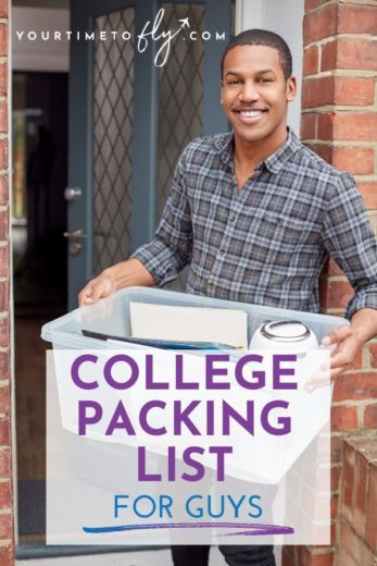 College packing list for guys