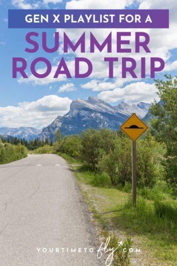 Gen X Playlist for a summer road trip
