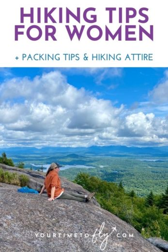 Hiking tips for women + packing tips and hiking attire