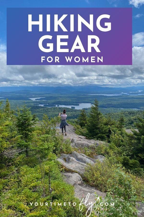 Hiking gear for women
