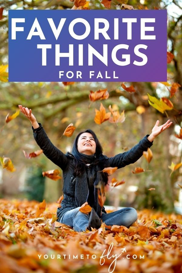 Favorite things for fall