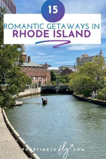 15 Romantic getaways in Rhode Island river with gondola on it