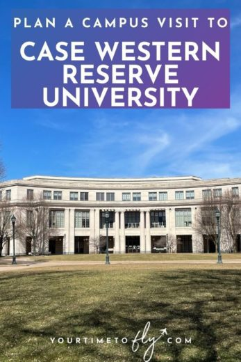 Plan a campus visit to Case Western Reserve University