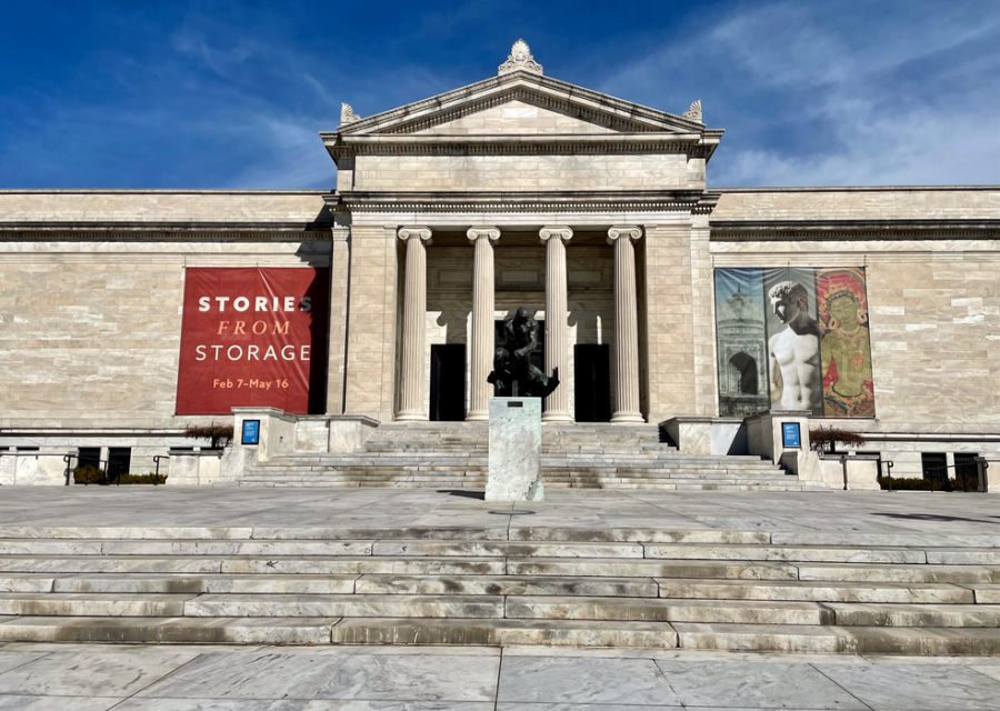 Cleveland Museum of Art entrance steps