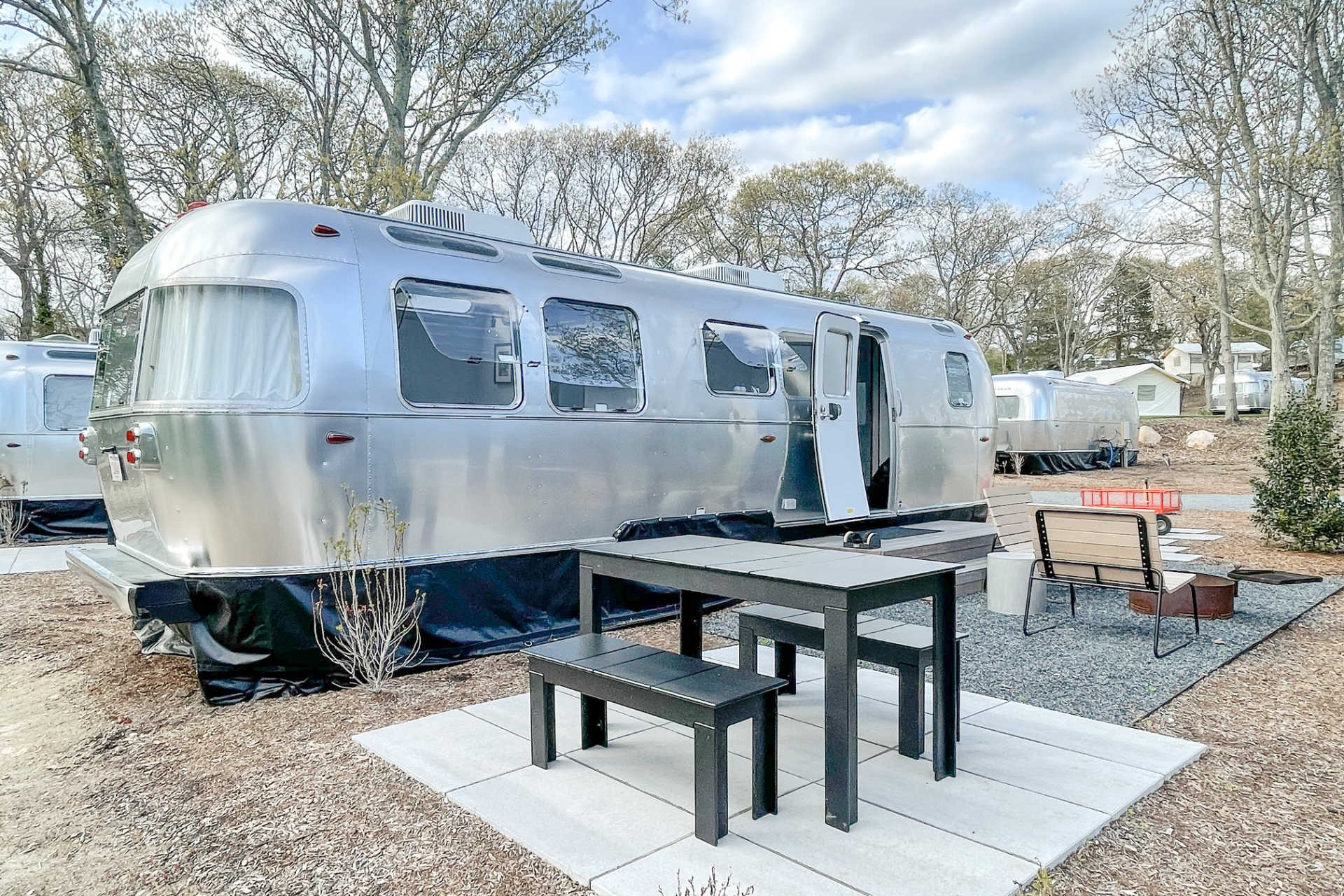 Airstream Glamping at Auto Camp Cape Cod is the Hot New Thing