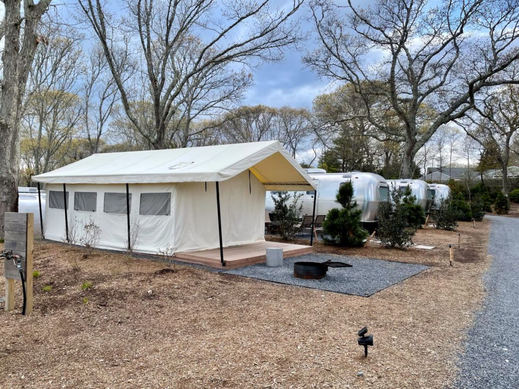 Auto Camp Cape Cod luxury tent
