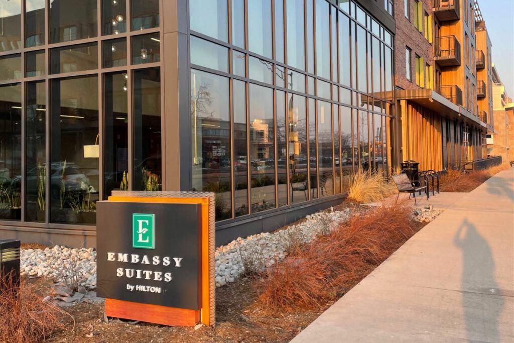 Embassy Suites by Hilton in Boulder Colorado exterior