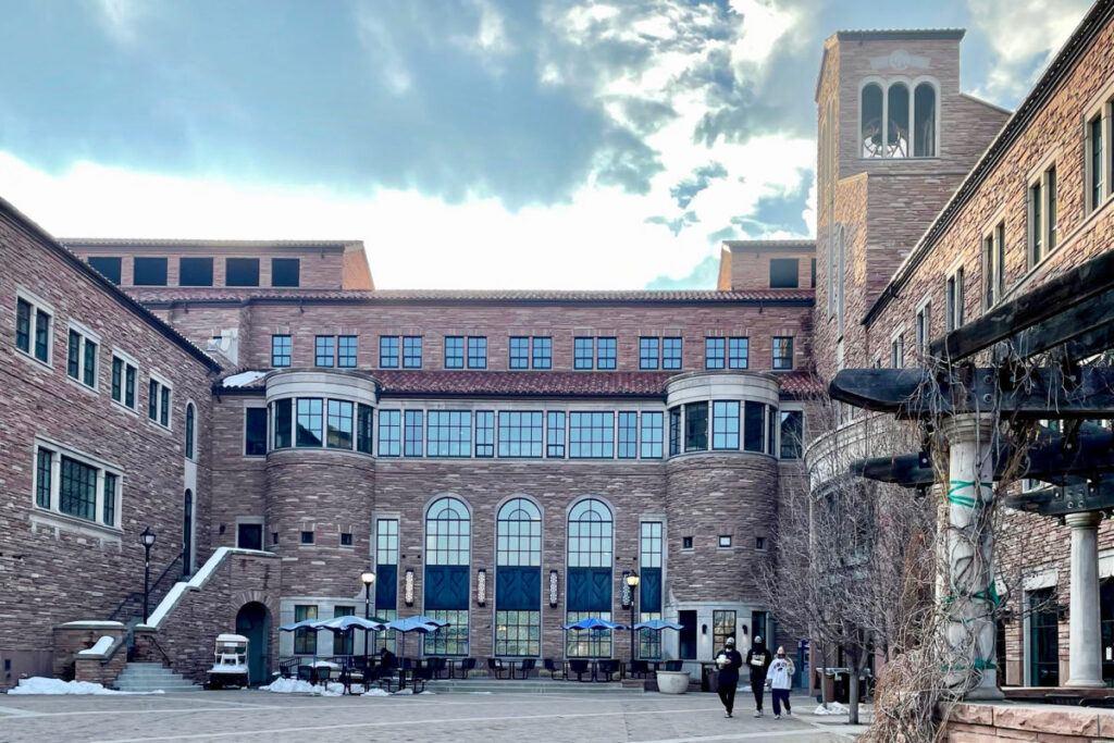 University of Colorado Boulder Center for Community exterior