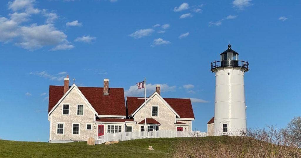 Nobska Lighthouse on Cape Cod