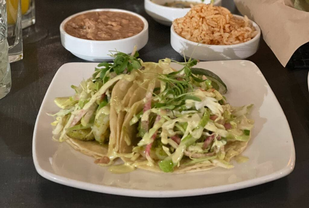 Tacos at Santo Boulder