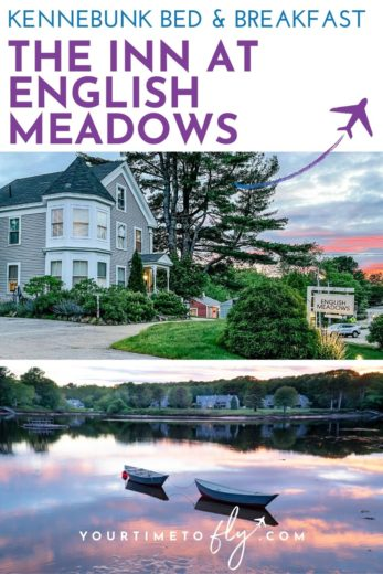 Kennebunkport bed and breakfast the Inn at English Meadows