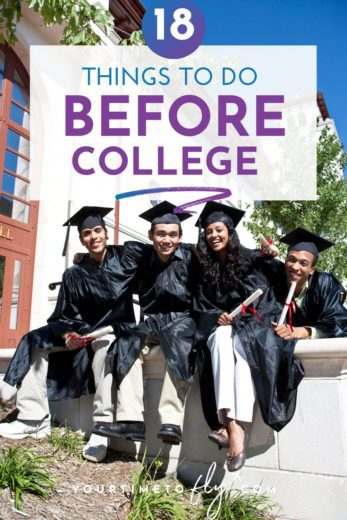 18 Things to do before College