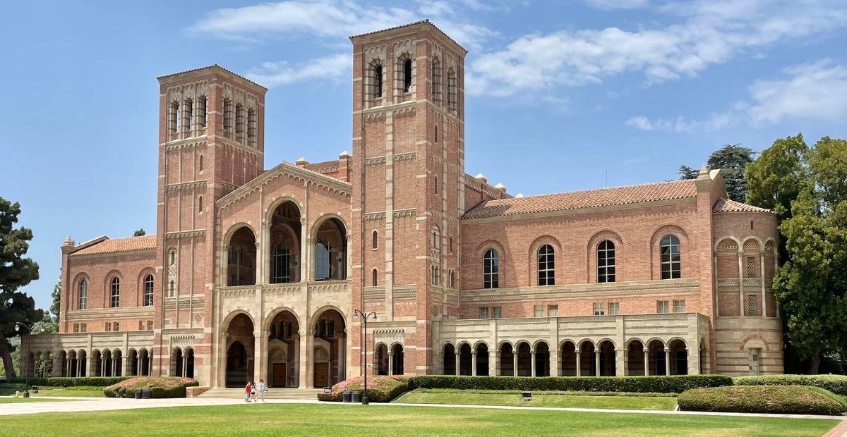 UCLA campus building