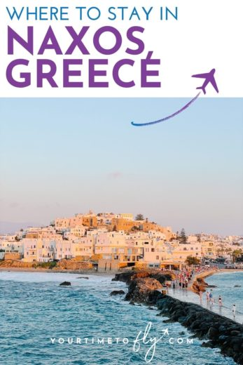 Where to stay in Naxos Greece