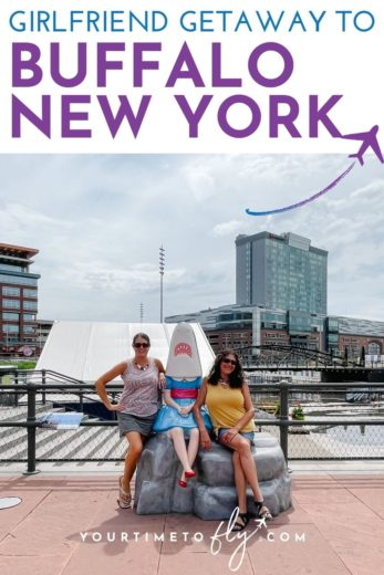 Girlfriend getaway to Buffalo New York