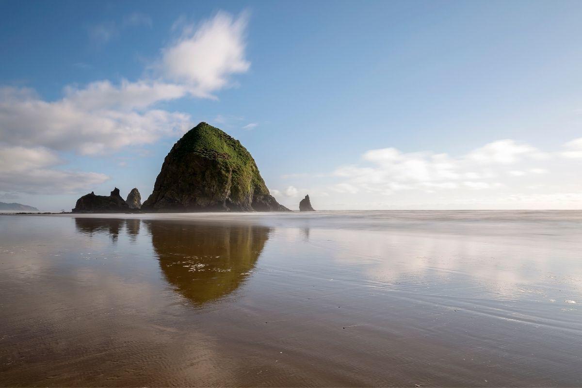 Haystack Rock on Cannon Beach, Oregon