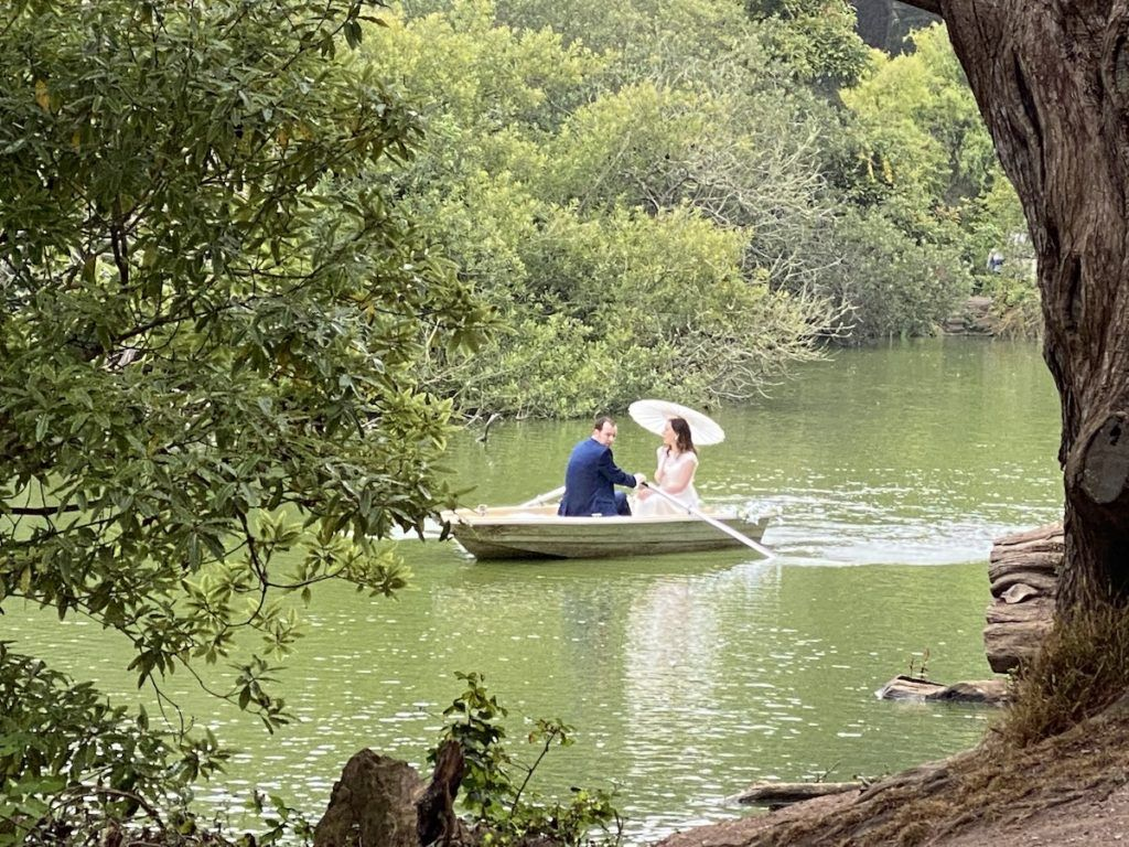 Boating on Stow Lake in Golden Gate Park| Photo by Kristine Dworkin