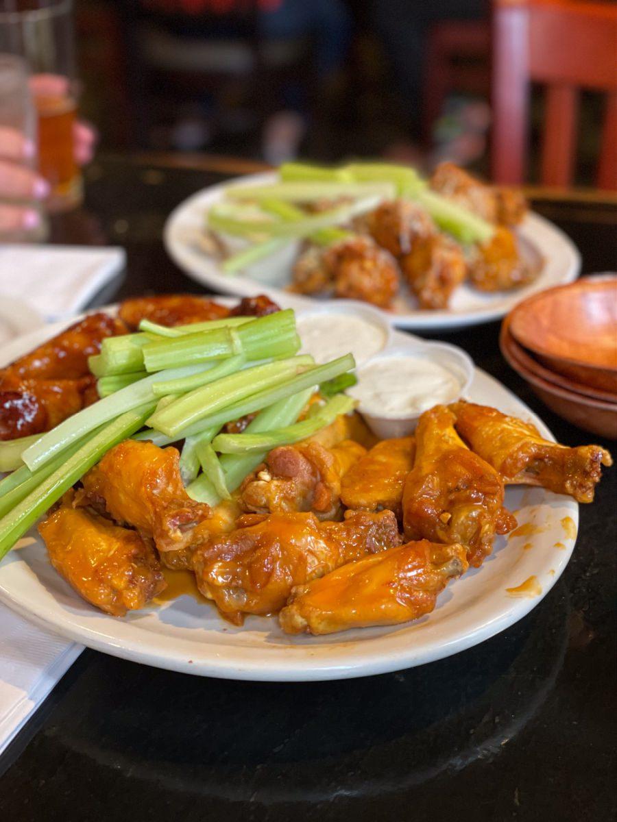 Buffalo wings from Anchor Bar