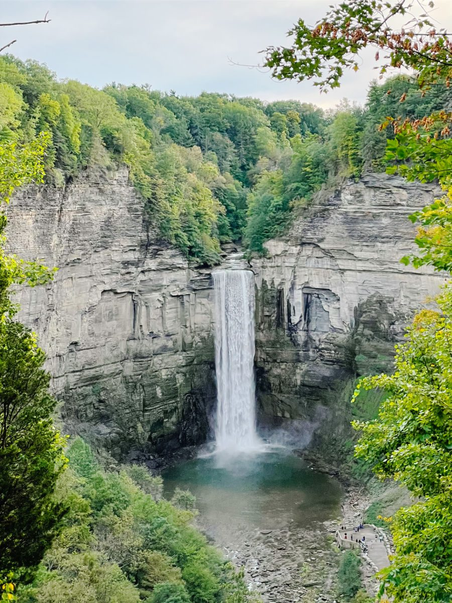 Taughannock Falls in Ithaca NY